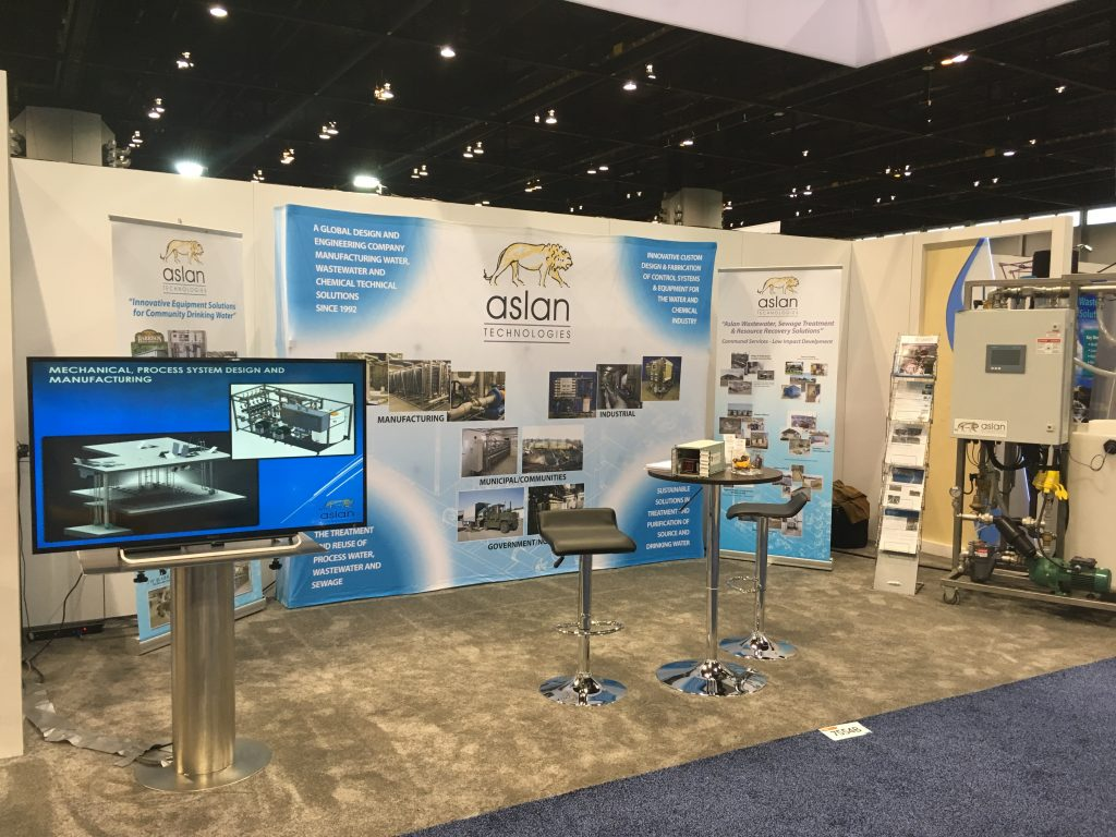 Successful Year At Weftec 2017 Aslan Technologies