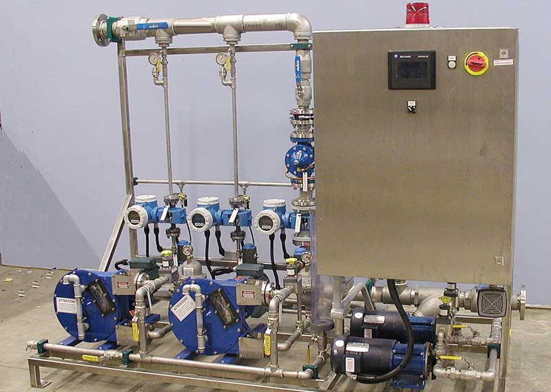 Polymer Make Down Amp Chemical Feed Skids Aslan Technologies